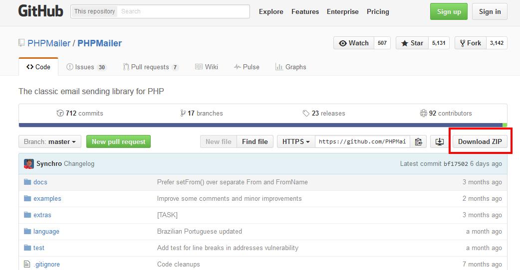 phpmailer_download